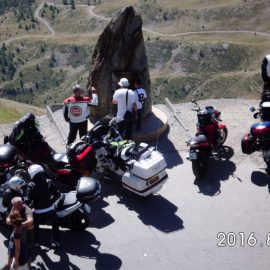 Geweldige motorreis naar de Franse Alpen.