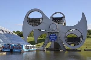 Falkirk wheel Fantastische Motorreizen