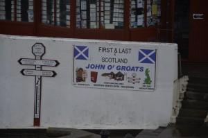 John O'Groats Fantastische Motorreizen