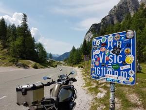 Vrsic Oostenrijk met Stelvio Motorreizen