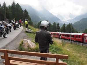 Bernina met trein Italië met Stelvio Motorreizen