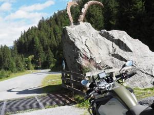 Kaunertal hoorns Stelvio Motorreizen