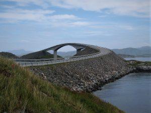 Motorreizen Atlantic road Noorwegen