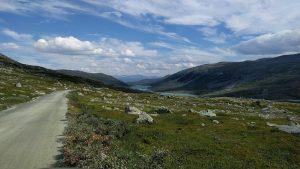 Strynefjelsvegen in Noorwegen