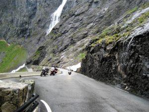 Motorreizen Trollstigen motoren in Noorwegen