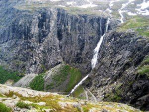 Trollstigen panorama in Noorwegen
